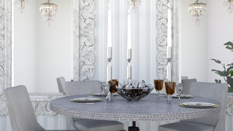 cristal - Dining room - by lyub
