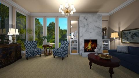 Lockwood - Living room - by VeroDale