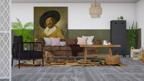 Modern Rustique - Modern - Living room - by HenkRetro1960