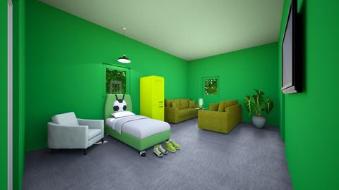 Green Homeee - by Sageybear12