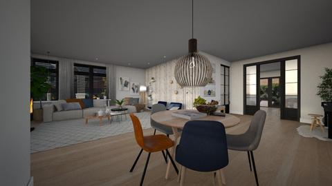 linda ontwerp1nie22aangep - Living room - by Gwenda van Maaren