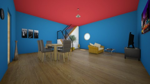 living and dining room - Living room - by adrian117