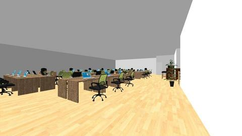 3rd Floor Plan B - Office - by stonyrossy