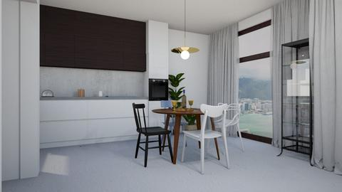 salon12 - Dining room - by aero_no