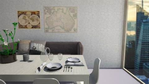 25876 - Dining room - by celavia