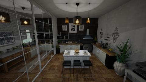 kitchen - Kitchen - by zahraa97