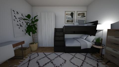 bunk beds - Bedroom - by Margaret Kilgallon