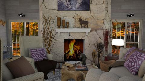Villa Caballo - Living room - by zsjv1989gmailcom