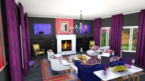 Glamour Living Room - Glamour - Living room - by jjp513