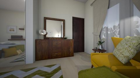 Dragos Vlad matrmonial - Bedroom - by Flori Santa
