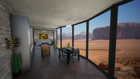 Desert Home - by EmperorRainbow