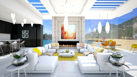 summer feeling - Modern - Living room - by sometimes i am here