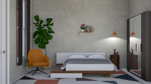Modern Playful lll - Bedroom - by lovedsign