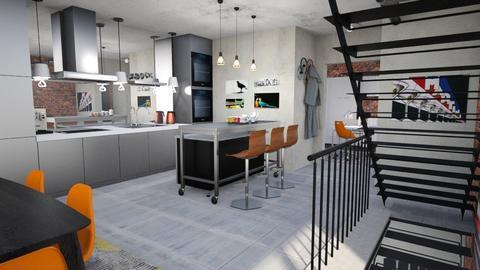 Minimal xtra  - Modern - Kitchen - by Tree Nut