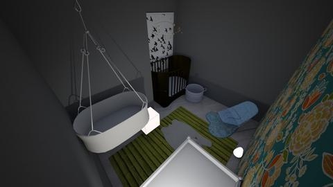 TEAL NURSUREY - Kids room - by smurfzilla