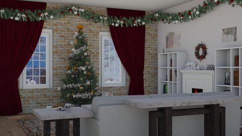 Christmas_Time - Living room - by RaeCam