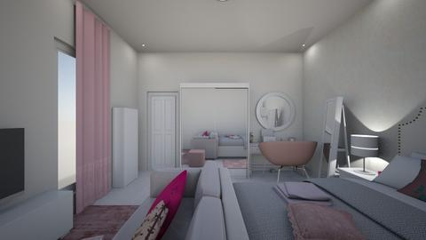 momon room - Modern - Bedroom - by monicamhomon