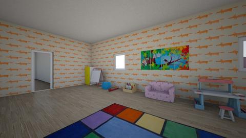 my house 1 - by marysiaironmonger
