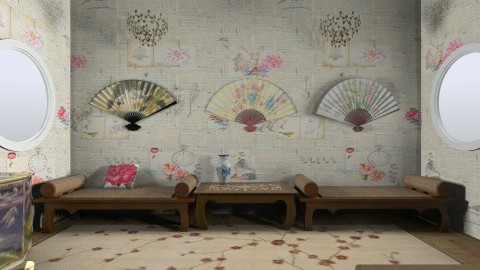 China - Bedroom - by langerreka