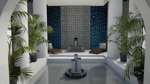 Palm  - Glamour - Bathroom - by Habib Altamimi