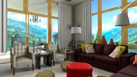 Elegant_Look  - Glamour - Living room - by anjuska9
