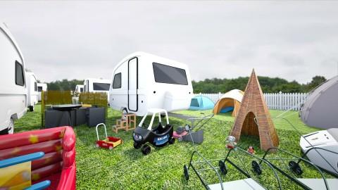 Caravan Club - Garden - by nelly_wreland