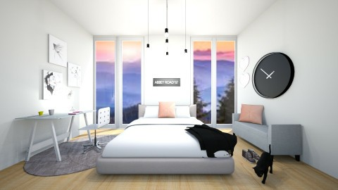 Student Dream - Bedroom - by designml
