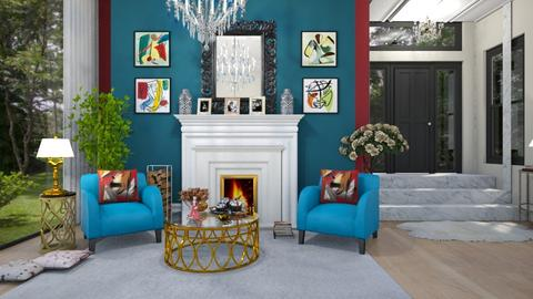 curves and colours - Living room - by Roberta Coelho