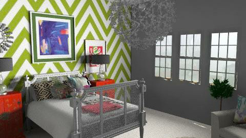 Chevron i - Eclectic - Bedroom - by hunny