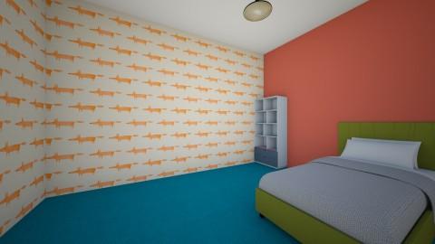 Anna - Retro - Kids room - by Ana Hale