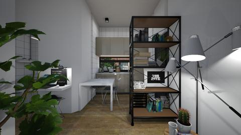 Casa242KitchenandDining - Modern - Kitchen - by nickynunes