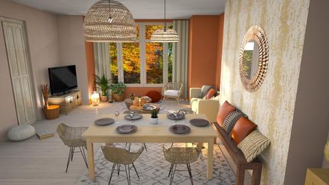 Template Baywindow Room - Living room - by Mandine