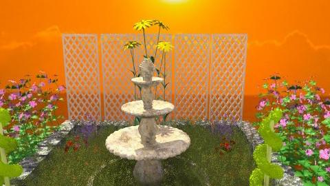 gardem - Vintage - Garden - by joao alberto