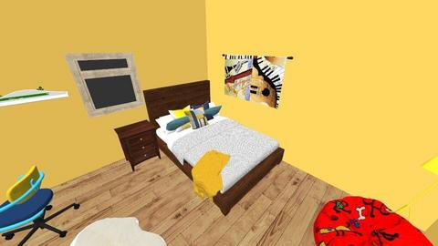 MY NEW ROOM - Bedroom - by Interia_dezain