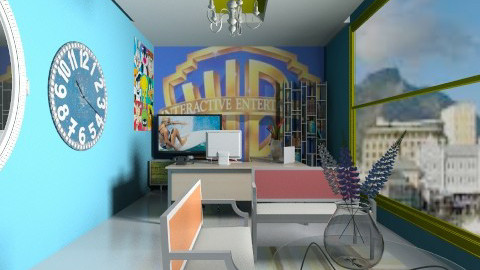 CEO of WB  - Modern - Office - by Nhezart Designs