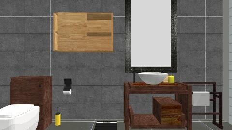 Bathroom - Retro - Bathroom - by imaginer