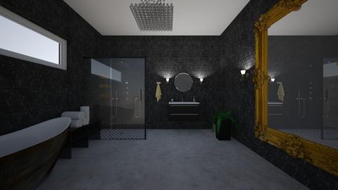 russian - Bathroom - by Angela Quintieri