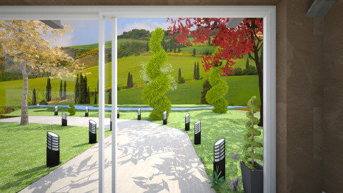 NR Folding Door2 - Garden - by TammieLynne