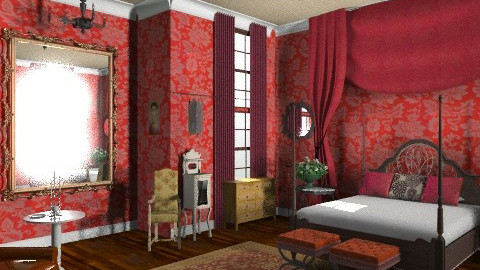 Jane - Vintage - Bedroom - by mywishlr