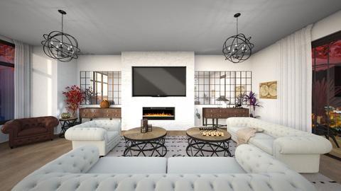Living room - Vintage - Living room - by Chiara Amadei