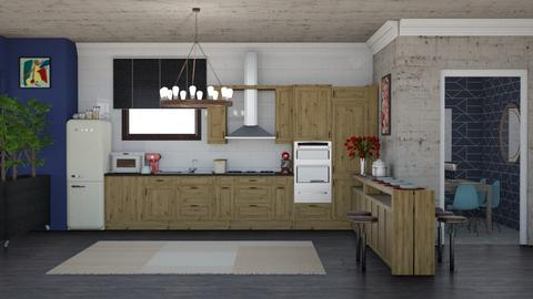 IP Artisan Kitchen - Eclectic - Kitchen - by laurenpoisner