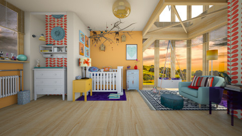 Sunrise - Eclectic - Kids room - by evahassing