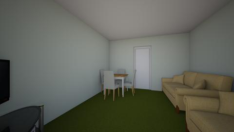 Oransay Road - Living room - by JLStratford
