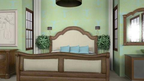 guest room - Rustic - Bedroom - by trees designs