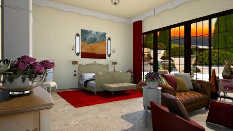 anabedroom - Bedroom - by silvanasilvana