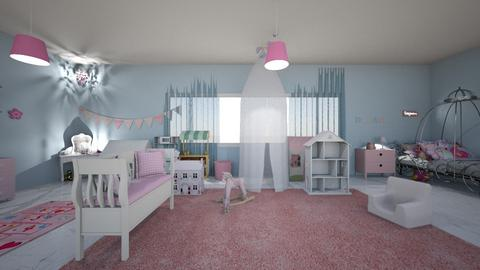 spoiled little girls room - Feminine - Bedroom - by JazzyMarie3339