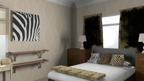 For kseniak - Classic - Bedroom - by toadfool