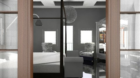 Master Suite - Eclectic - Bedroom - by PomBom