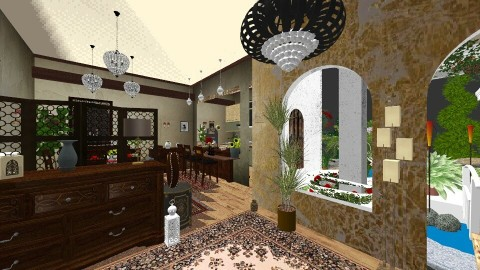 Oazis house - by DMLights-user-1468788