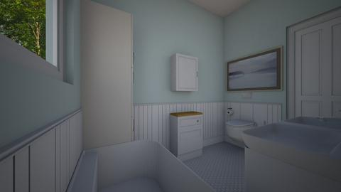 Bathoom 7x10 - Bedroom - by PenAndPaper